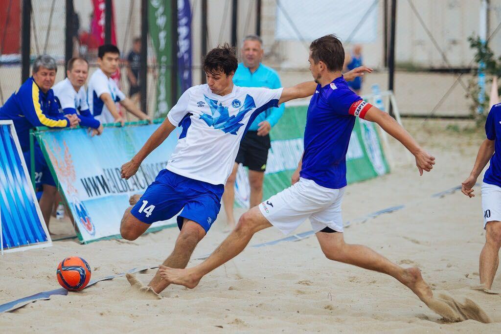 «Арман» вышел в финал Евразийской лиги пляжного футбола