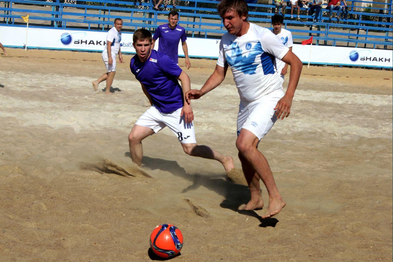 Владислав Чернышов возвращается в пляжный футбол