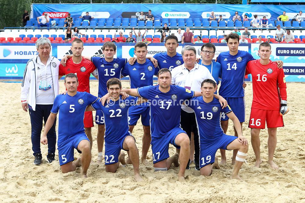 Сборная Казахстана одержала третью победу подряд